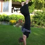 Katrin Handstand